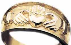 irish claddagh jewelry